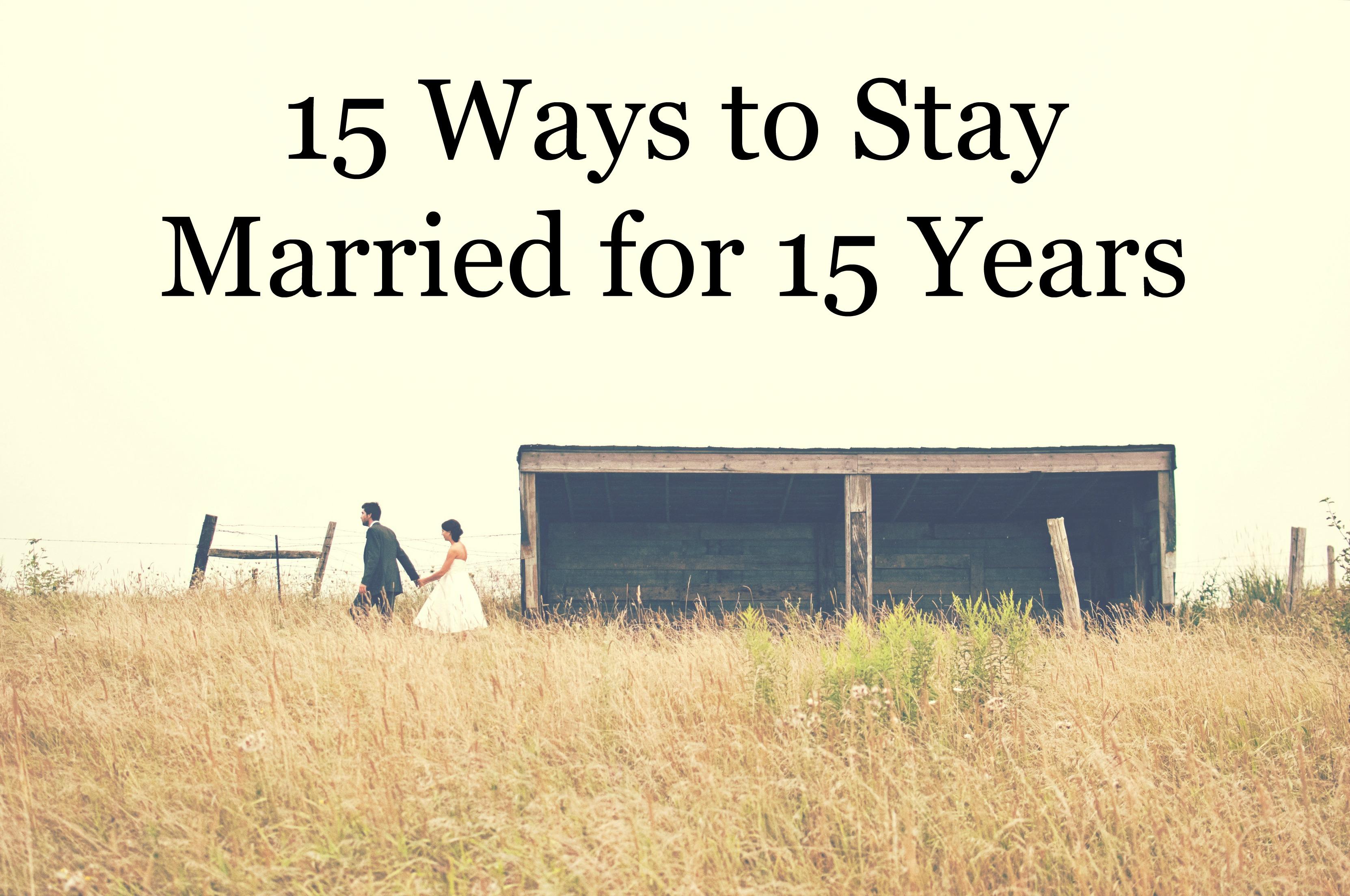 15 way married 15 years